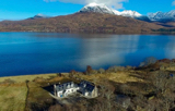 Badan Mhughaidh: Sleeps 4-8. Dogs by arrangement