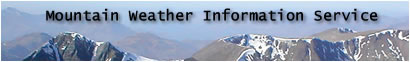 click for Mountain Weather Information Service