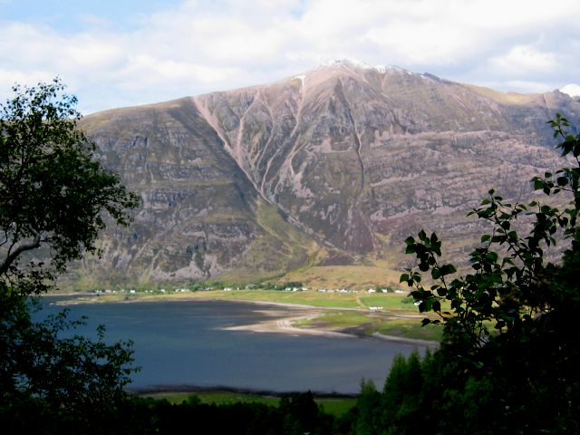 The village and setting of Torridon